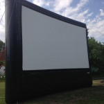 24 Foot Outdoor Cinema Screen - For Hire