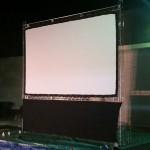 16 Foot Indoor or Outdoor Cinema Screen - For Hire