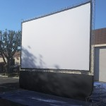 21 Foot Outdoor Cinema Screen - For Hire