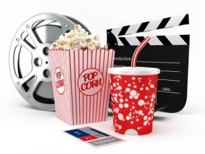 Popcorn and Cinema under the stars