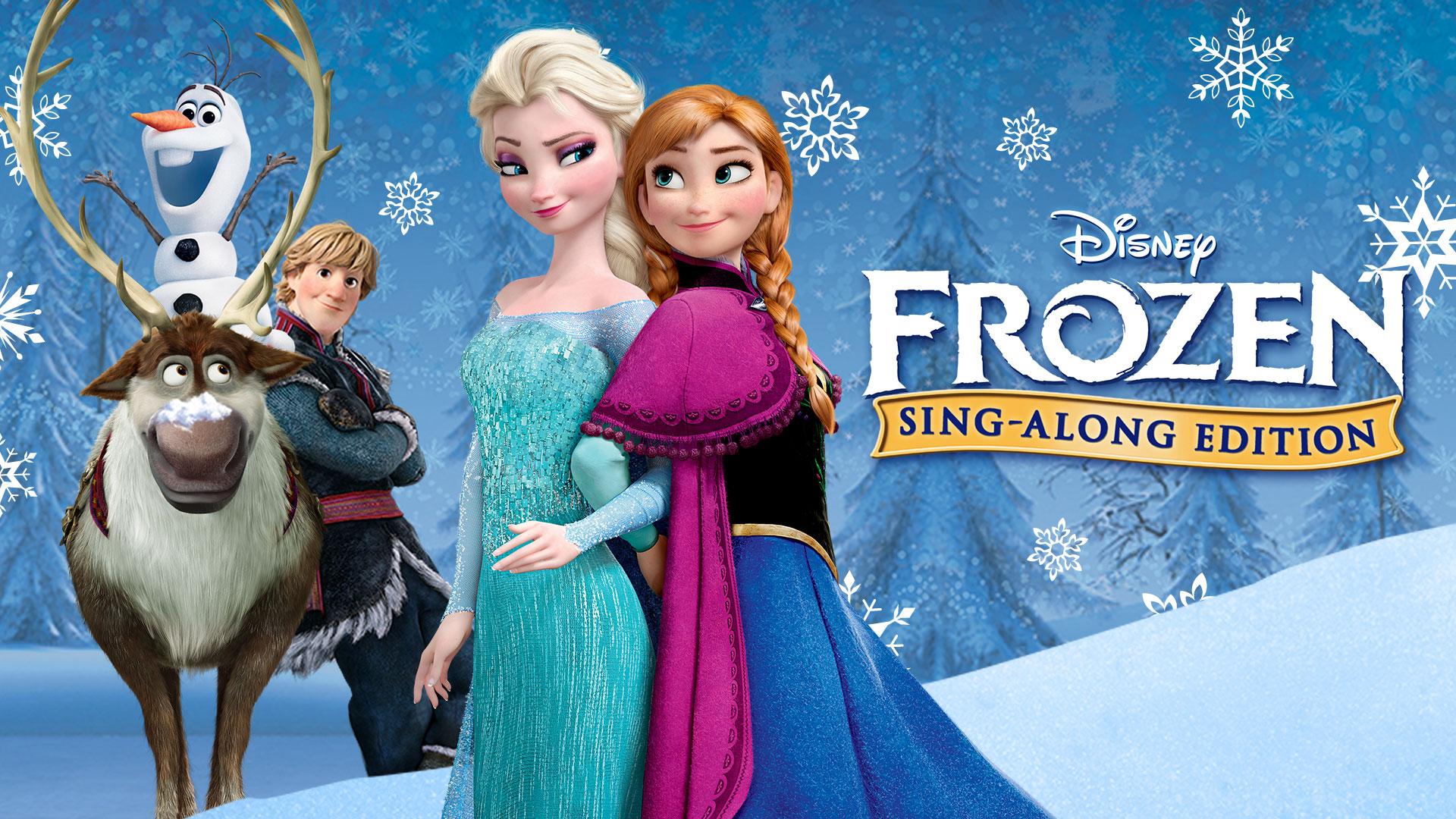 frozen sing-along | moonbeamers popup cinema