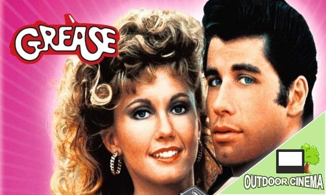 Grease Outdoor Movie Weald Moonbeamers Popup Cinema