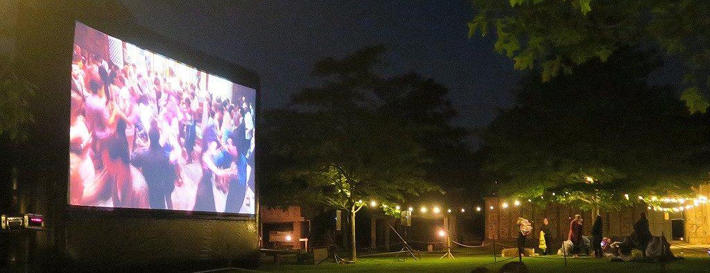 Outdoor Cinema Rental