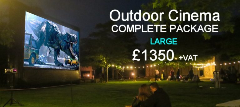 Extra Large Outdoor Cinema Hire