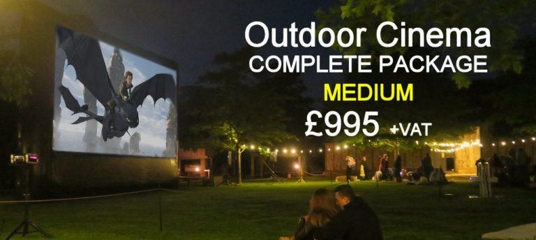 Medium Outdoor Cinema Hire