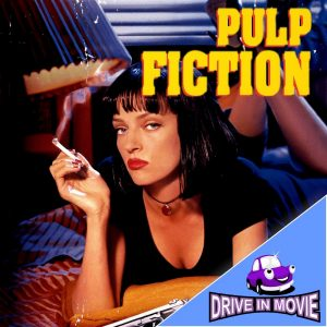Pulp Fiction Drive In Movie art Barleylands