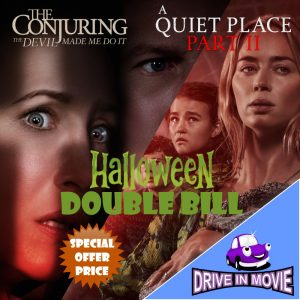 Book Halloween Drive in Movie Double Bill